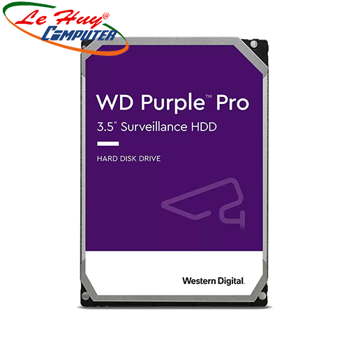 Ổ Cứng HDD Western Pro 12TB 3.5 inch, 7200RPM,SATA 3, 256MB Cache (WD121PURP)