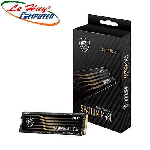 Ổ cứng SSD MSI SPATIUM M480 2TB PCIe 4.0 NVMe M.2