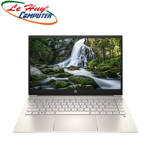 Máy Tính Xách Tay/Laptop HP Pavilion 14-dv0007TU (2D7A4PA) (i3-1115G4/ 8Gb/ 512GB SSD/ 14FHD/ VGA ON/ Win10+Office/ Gold)