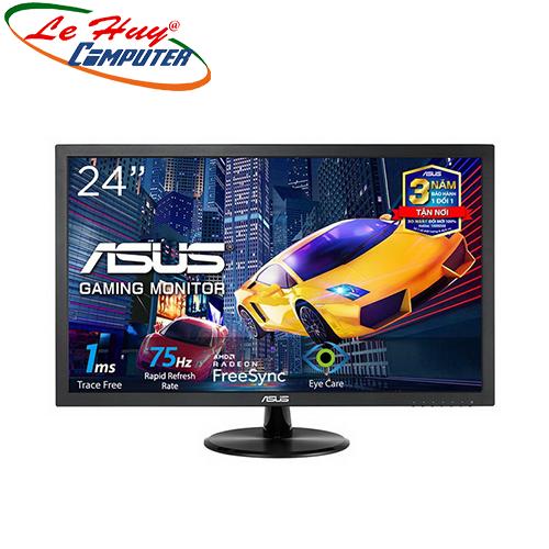 Màn hình LCD Asus VP248H 23.5Inch FullHD 75Hz 1ms Loa