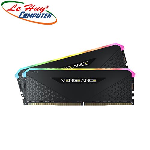 Ram Máy Tính Corsair Vengeance RGB RS 64GB 3200MHz DDR4 (2x32GB) CMG64GX4M2E3200C16
