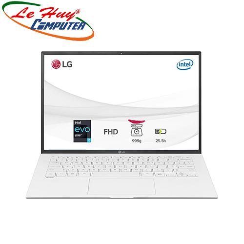 Máy Tính Xách Tay/Laptop LG Gram 14ZD90P-G.AX51A5 (i5 1135G7/8GB RAM/256GB SSD/14.0 inch WUXGA/Trắng)