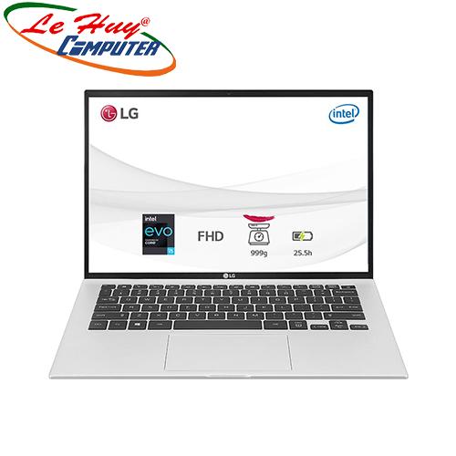 Máy Tính Xách Tay/Laptop LG Gram 14ZD90P-G.AX56A5 (i5 1135G7/16GB RAM/512GB SSD/14.0 inch WUXGA/Bạc)