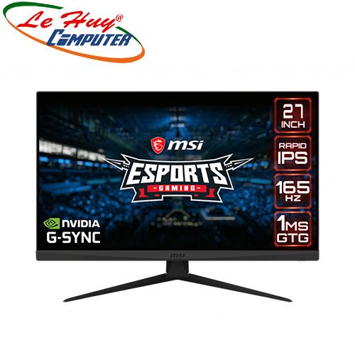 Màn hình LCD MSI Optix G273QF 27 inch WQHD 165Hz