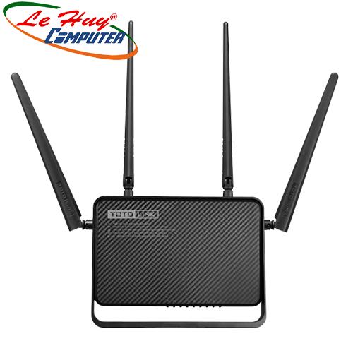 Thiết bị mạng - Router TotoLink A3000RU băng tần kép Gigabit AC1200